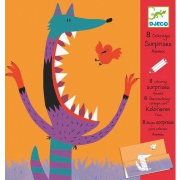 Djeco Colouring Surprises - Animals