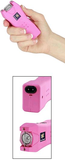 Help Fight Breast Cancer With Weapons From WomenOnGuard.com Through the first part of Breast Cancer Month, we will focus on 13 products we sell, for which a portion of the proceeds, goes to fight the disease. #5: Lady Lifeguard Pink Stun Gun 2.5 Million Volts