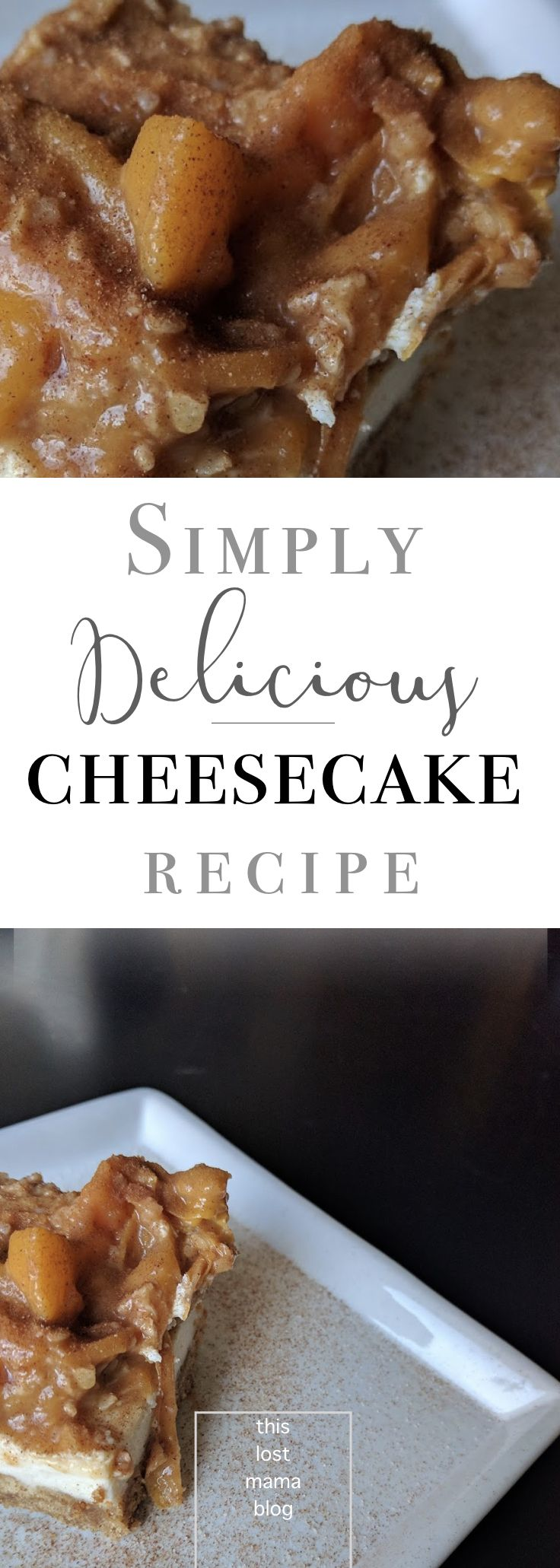 Simple cheesecake recipe. Simple and quick way to make cheesecake! So easy and in no time! #recipes #foodie
