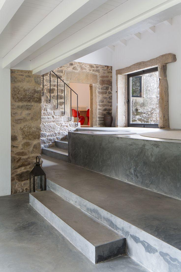 Las 25 mejores ideas sobre escaleras de piedra en - Casas de piedra ...