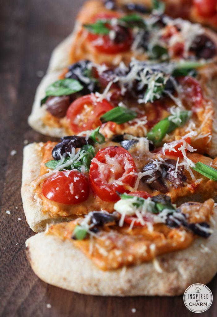 W A N T --> Mediterranean Flatbread #appetizer