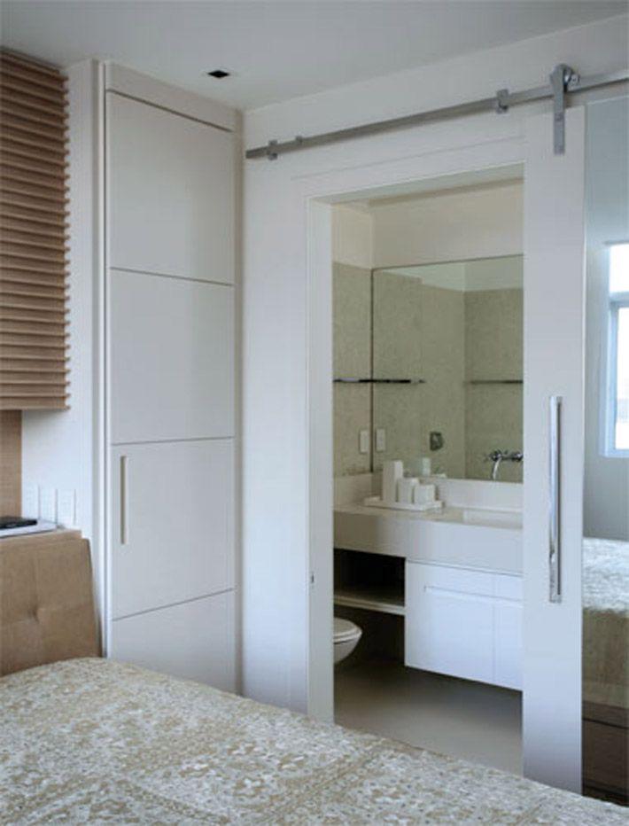 25 melhores ideias sobre porta de correr embutida no pinterest porta de quarto porta. Black Bedroom Furniture Sets. Home Design Ideas
