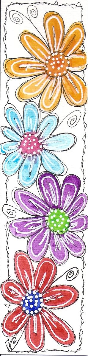 doodled bookmark #2