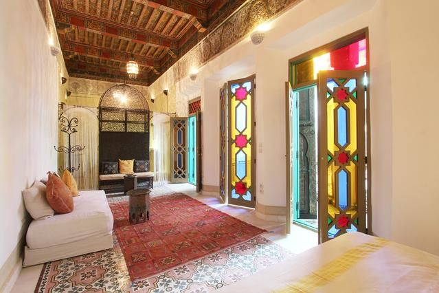 7 Bedroom Home in Marrakech to rent from £818 pw. With balcony/terrace, air con and Telephone.