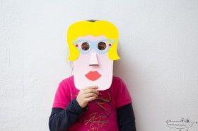 Mascaras de personajes