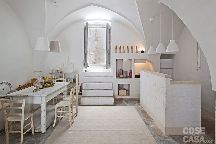 A rustic house in Puglia, Italy kitchen barefootstyling.com