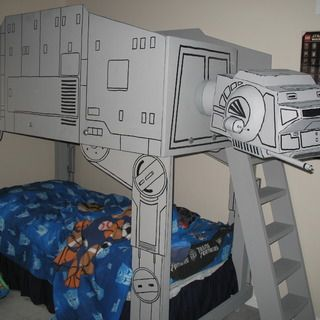 Star Wars AT AT Imperial Walker Loft Bed