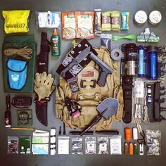 This is my bug out bag load out. Full list of contents on our resources page. #bugoutbag #bugout #prepper #shtf
