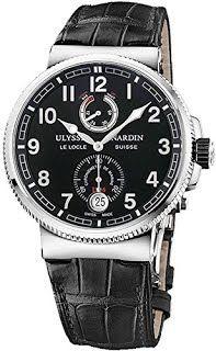 """Features & Benefits"" Ulysse Nardin Marine Chronometer Manufacture Men's Watch 1183-126/62"