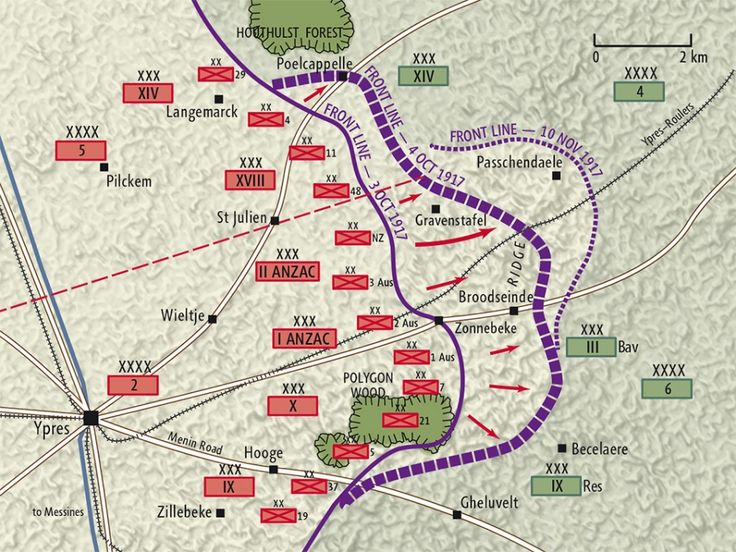 Image result for map of passchendaele