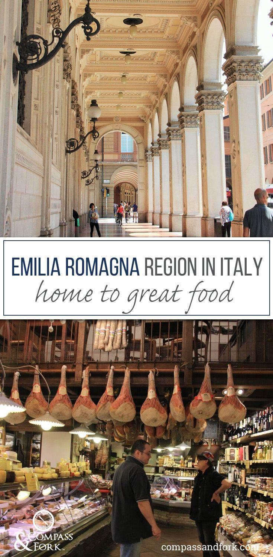 Emilia Romagna Region in Italy Home to Great Food www.compassandfork.com                                                                                                                                                                                 More