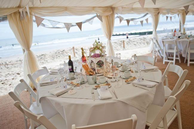 Tabitha and Daniel's wonderfully relaxed seaside wedding #weddingideas