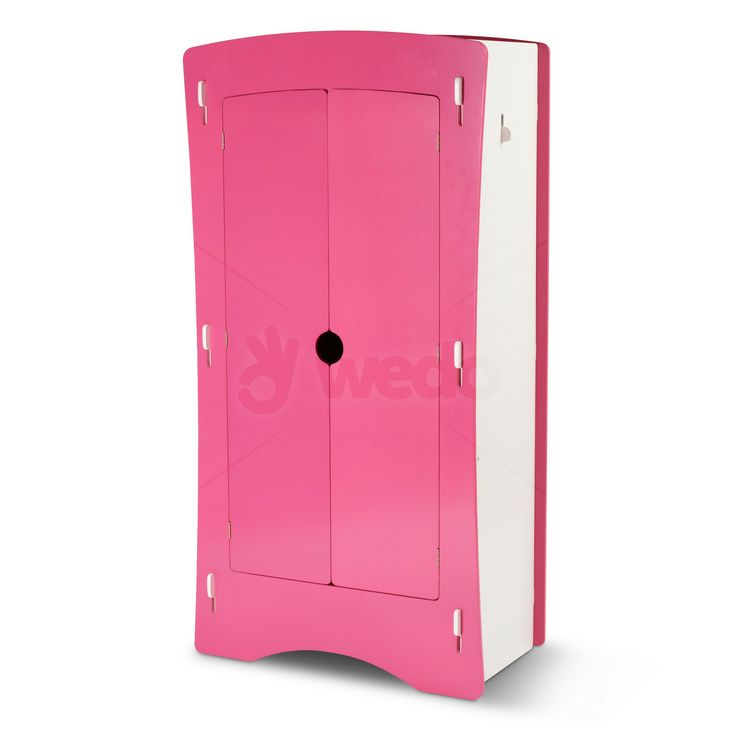 Blush 2 Door Wardrobe