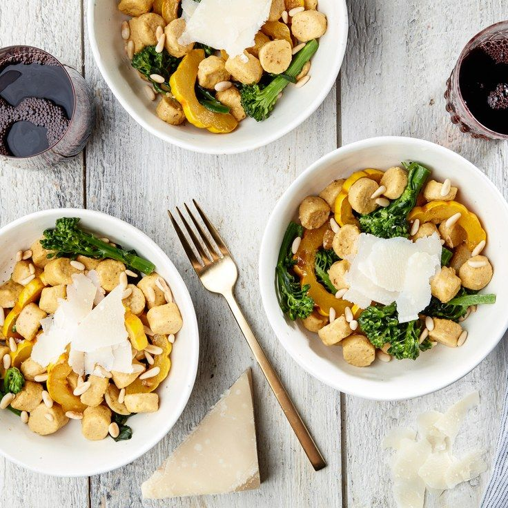 Ricotta-Pumpkin Gnocchi With Brown Butter