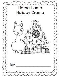 llama llama holiday drama freebie