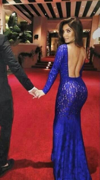 Michael Costello Lace Mermaid Tail Dress Seams Like A Plan To Me
