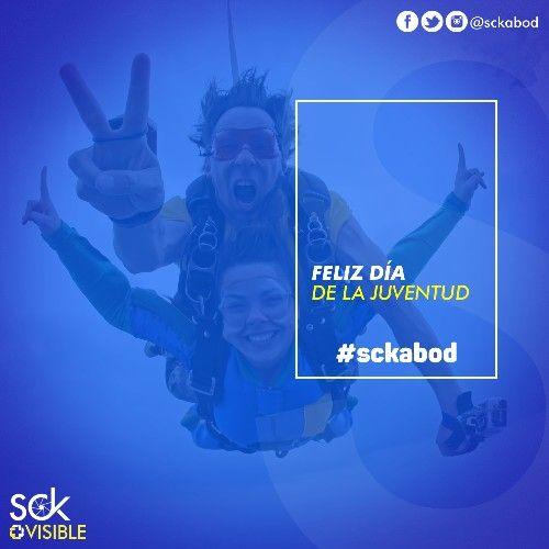 Feliz día de la juventud #felizdiadelajuventud #alegria #amistad #diseñografico #creatividad #sckabod #frases