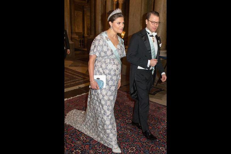 La princesse Victoria de Suède et le prince Daniel au Palais royal à Stockholm, le 3 février 2016