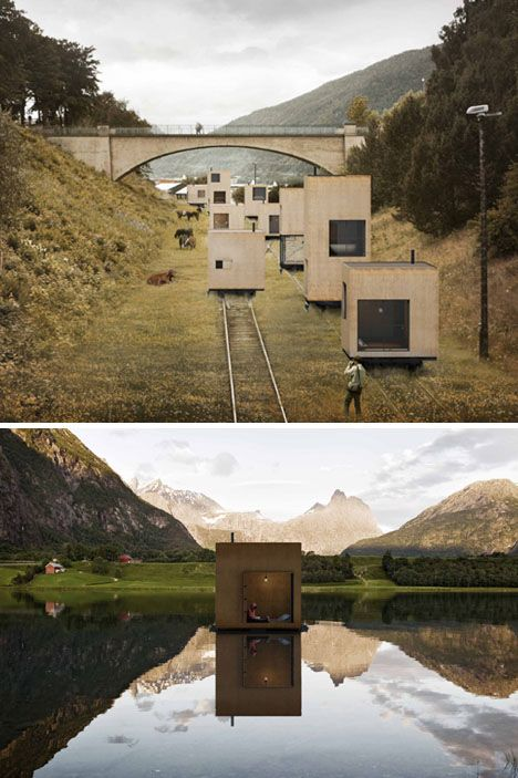 railroad nomadic urbanist settlement #towns on #rails