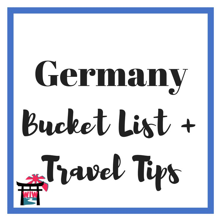 Germany Travel | Germany | Germany Bucket List | Berlin | Munich | Oktoberfest | Berlin Wall | Frankfurt | Hamburg | Dusseldorf | Cologne | Dresden | Stuttgart