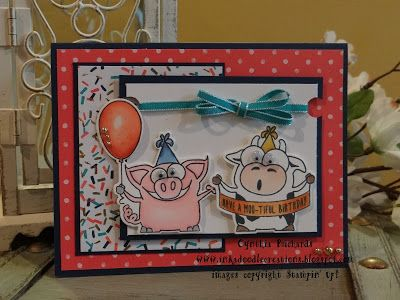 Ink-a-Doodle Creations: Happy Birthday FM222