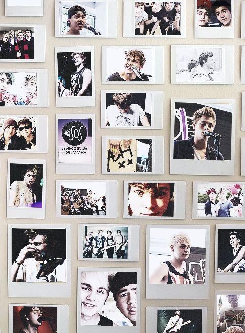 Wanna do this to my wall soo bad  (◠‿◠♡)