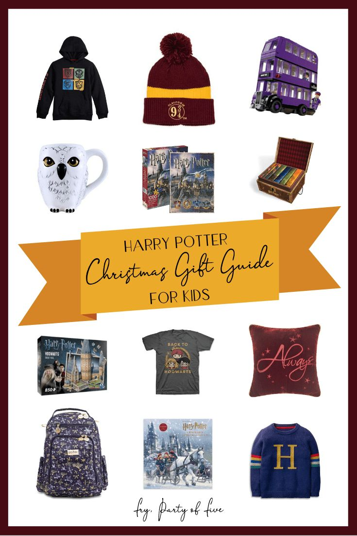 20 harry potter christmas gifts on my kids wish list