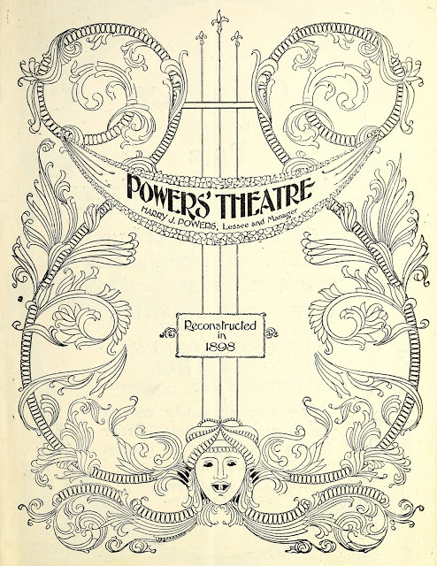 Theatre Program Cover — for personal use only!