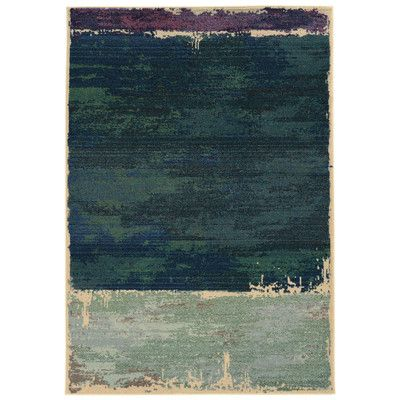 Pantone Universe Expressions Abstract Green Area Rug | Wayfair
