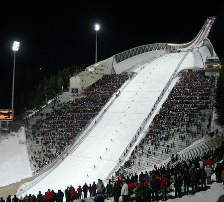 Holmenkollen ski jump by JDS Architects opens - Dezeen