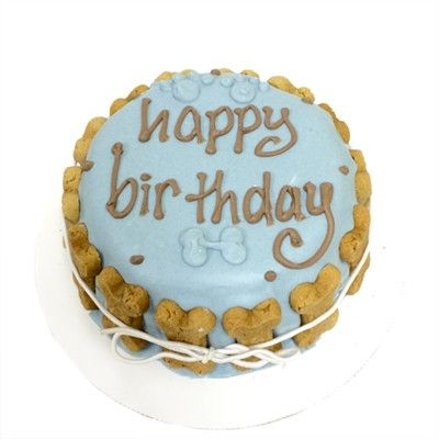 Organic Dog Birthday Cakes