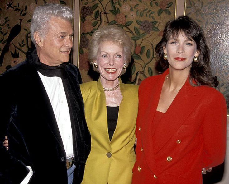 Tony Curtis, Janet Leigh and their daughter Jamie Lee Curtis