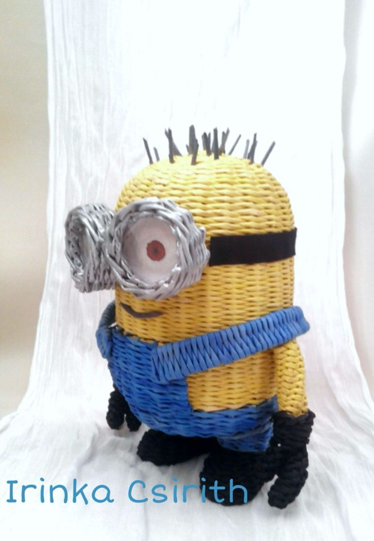 Wicker Minion Jerry