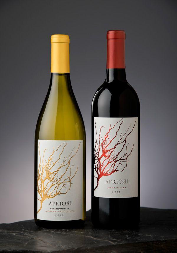 Apriori - Wine label - Napa Valley