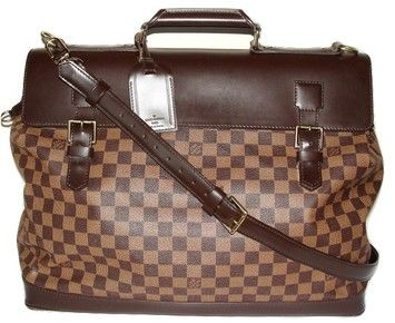 0895a1cded6d Louis Vuitton Damier Canvas Brown Travel Bag