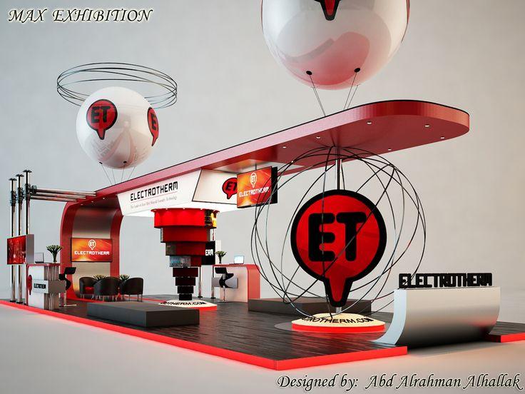 """查看此 @Behance 项目:""""Stand exhibition...for ELECTROTHERM company""""https://www.behance.net/gallery/42833195/Stand-exhibitionfor-ELECTROTHERM-company"""