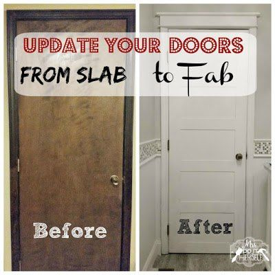 Update Your Doors - From Slab to Fab