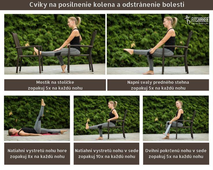 cviky na posilnenie kolena a odstránenie bolesti