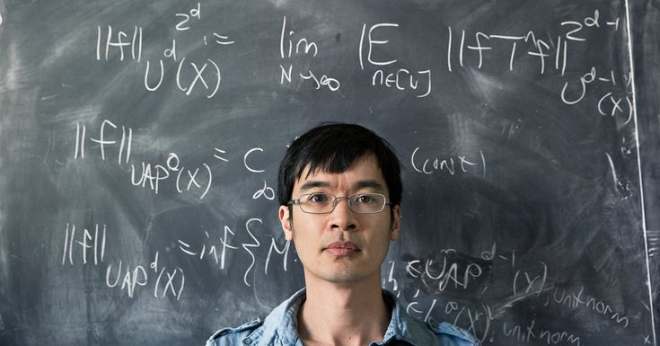 A prodigy grows up to become one of the greatest mathematicians in the world.