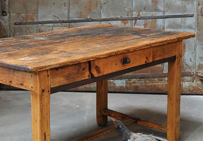 9 Best Images About Rustic Farm Tables On Pinterest French Furniture And Wooden Dining Tables
