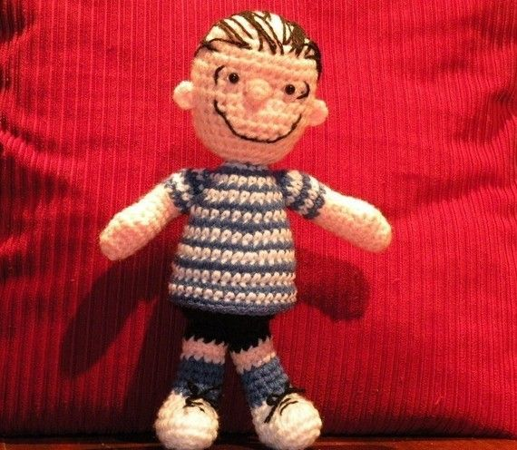 Linus From Peanuts Crochet Pattern (pay $5.39)