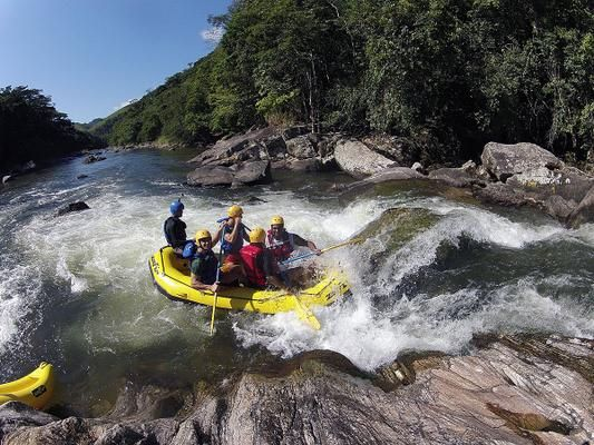 Rafting just got a heck of a lot more fun in Rio!