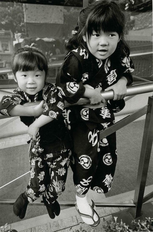 Nagoya, 1995 by Jeanloup Sieff