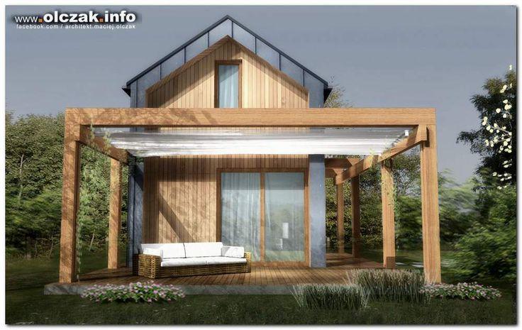 Architekt Maciej Olczak - projekt odmu na wakacje