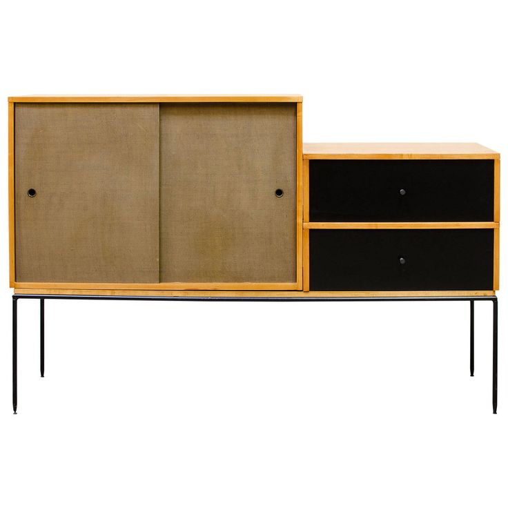 Paul McCobb Planner Group Modular Cabinet | From a unique collection of antique and modern cabinets at https://www.1stdibs.com/furniture/storage-case-pieces/cabinets/