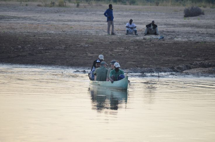 River crossing luxury liner... bush style the only way to go!