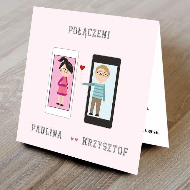 Zaproszenia ślubne, zaproszenie na ślub POŁĄCZENI (5427746231) - Allegro.pl - Więcej niż aukcje.