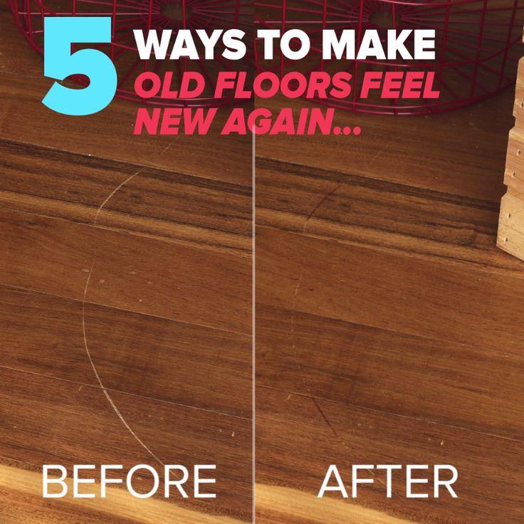 5 Ways To Make Old Floors Feel New Again