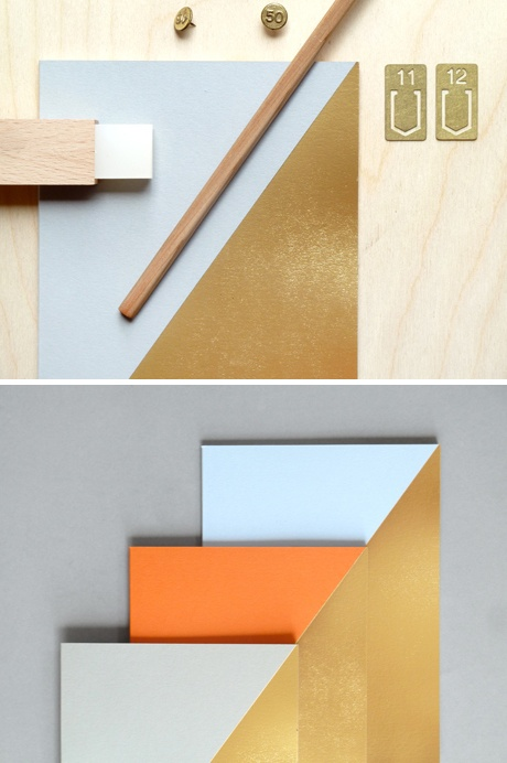 Our foil block books, new to Present & Correct