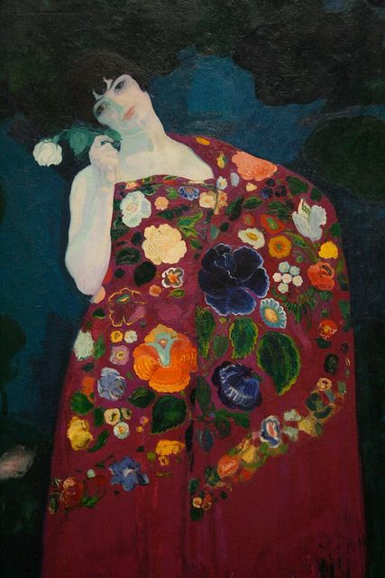 Granadina, 1914, by Hermenegildo Anglada Camarasa---oh, how I love this